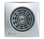 Безшумен вентилатор за баня и WC(220-240V) - Silent 100CZ Silver