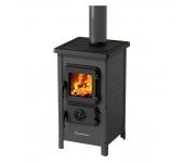 Печка на дърва и въглища MBS Happy, сива