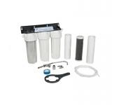 Филтрираща система за питейна вода тристепенна