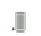Лъчист радиатор - Noirot Аurea Smart Eco Control -  1000W Вертикален