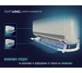 Smart Wing Интелигентно насочване на въздушната струя