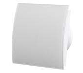 Вентилатор за баня и WC - MM-P-UE 100/100 квадрат с клапа 06 Стъкло овал /бял мат/
