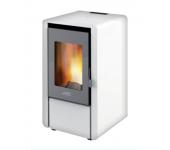 Пелетна камина ELIT-FIRE суха Q=6,15 kW цвят: бял