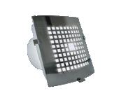 Вентилатор дизайнерски с вградена LED крушка 2W BLAUBERG Lux Ф100