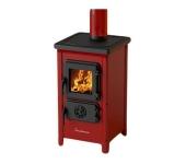 Печка на дърва и въглища MBS Happy, червена
