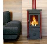 Печка с водна риза на дърва и въглища Thermo Vesta